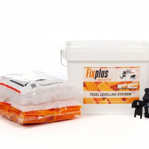 Fix Plus Tegel Levelling Systeem - Starters Kit - 1 t/m 3 mm voegbreedte