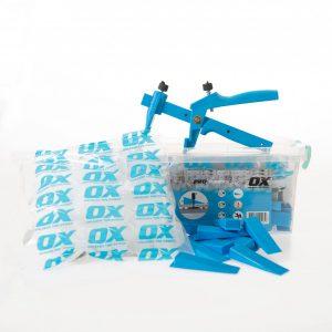 OX Tile Tegel Levelling Systeem - Starters Kit - 1 mm, 2 mm & 3 mm voegbreedte