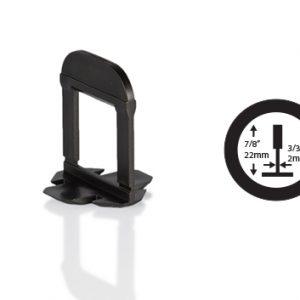 OX Tile Levelling Clips Extra Lang - 2 mm - Vanaf 250 stuks