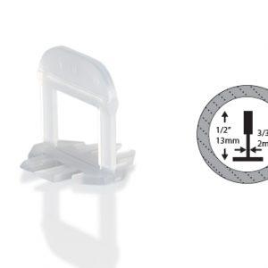 OX Tile Levelling Clips - 2 mm - Vanaf 100 stuks