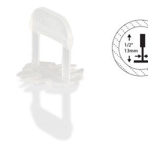 OX Tile Levelling Clips - 1 mm voegbreedte - Vanaf 250 stuks