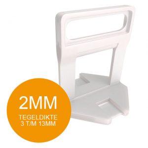 Fix Plus Levelling Clips - 2 mm - Vanaf 100 stuks